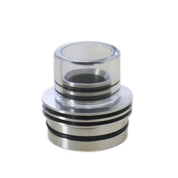 Glass & Stainless Steel Chuff Enuff by Tobeco