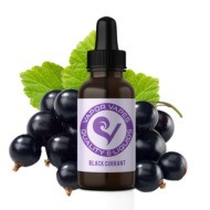 black currant e-juice is a unique fruit flavor.
