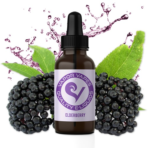 elderberry e-juice